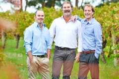 Snr Winemaker, Tim Lovett, Viticulturist, David Winstanley and Winemaker, Phil Hutchison