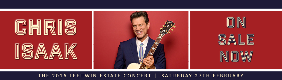 HOME PAGE BANNER - CHRIS ISAAK ON SALE NOW 2