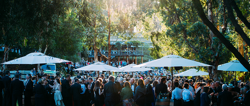 Outdoor Functions at Leeuwin Estate