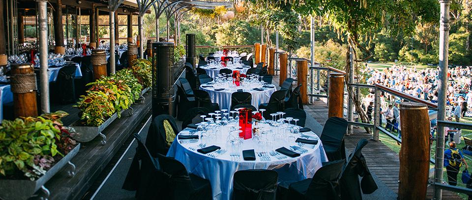 Leeuwin Estate Restaurant Balcony