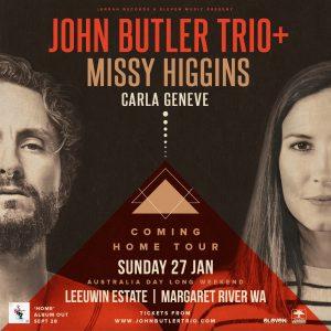 JBT+ & Missy Higgins